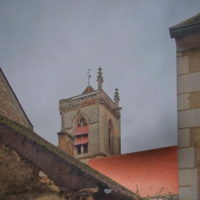 clocher eglise Irancy