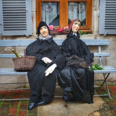 couple de villageois Irancy