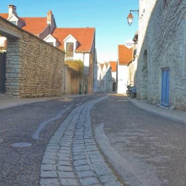dans les rues du vieux Talant