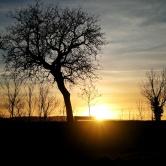 coucher de soleil Talant