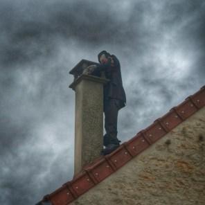 sur le toit Irancy