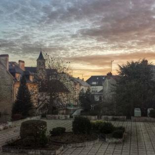 vue depuis notre chambre, ibis centre Caen