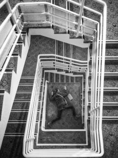 escaliers Ibis centre Caen
