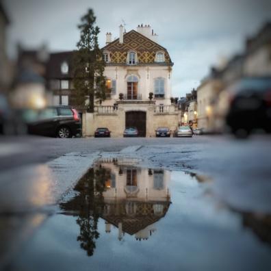 Puddle rue de la Préfecture, Dijon