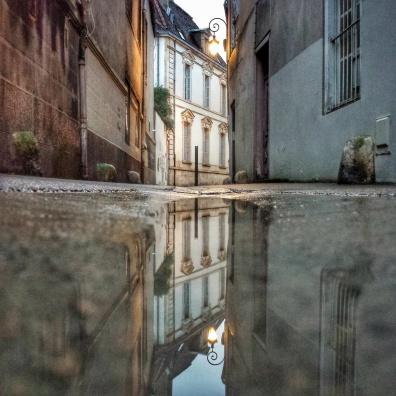 Puddle, ruelle du Suzon, DIjon