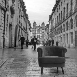 Le Fauteuil-Graphe de QuenT Photography, Rue Rameau à Dijon