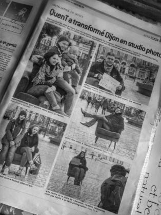 Relai dans la presse locale , Le Bien Public
