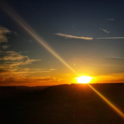 Quand le soleil le couche Baulme la Roche
