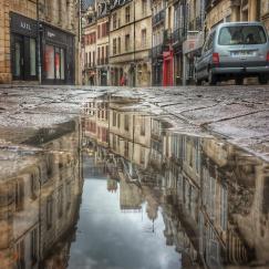 Puddle rue des Forges, Dijon
