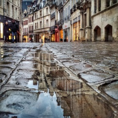 Puddle rue des Forges, DIijon