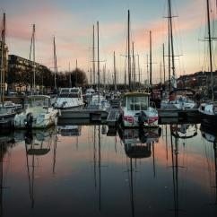port de plaisance face Ibis centre Caen