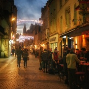 rue du centre ville Caen