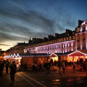 Marché de Noël Place St Sauveur Caen