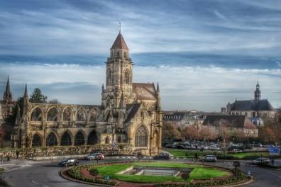 St Etienne depuis la Grande roue