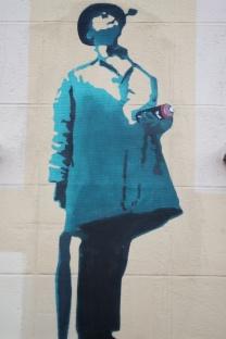 graf dans les rues du centre ville de Caen