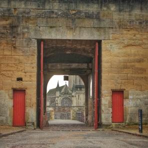porte château ducal Caen