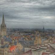 vue depuis le château ducal Caen
