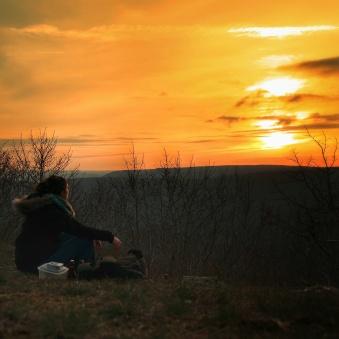bulles et coucher de soleil, Mont AfriqueSAMSUNG CAMERA PICTURES