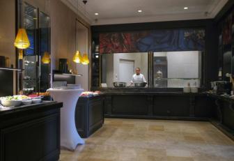 buffet espace brunch Grand Hotel La Cloche MGallery