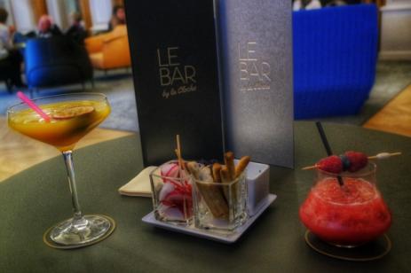 Pornstar Martini et Burgundy seeds Bar by La Cloche Dijon