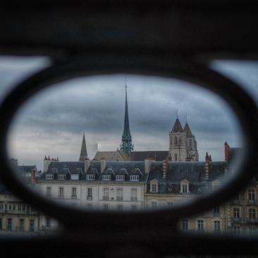 Vue depuis la chambre 315 Grand Hôtel La Cloche MGallery Dijon