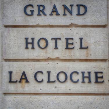 Enseigne Grand Hôtel La Cloche MGallery