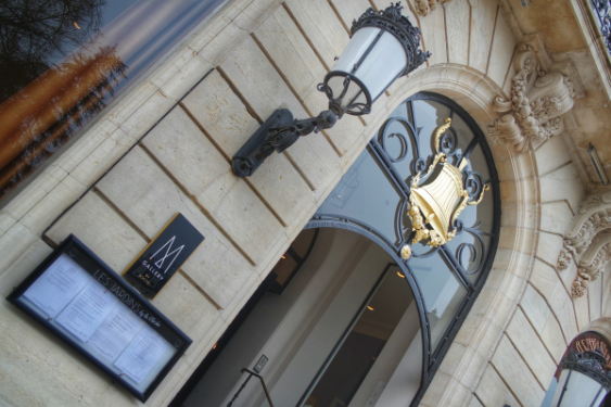 Entrée Grand Hôtel La Cloche MGallery Dijon