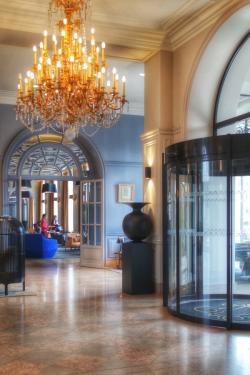 Hall Décoration Grand Hôtel La Cloche MGallery