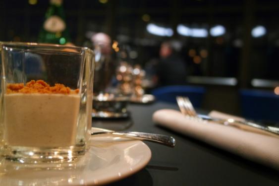 panacotta de champignons de Paris et shiitake Jardins de La Cloche Grand Hotel MGallery
