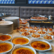 supplément desserts brunch Grand Hotel La Cloche MGallery Dijon