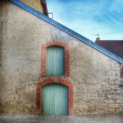 façade dans Pouillenay