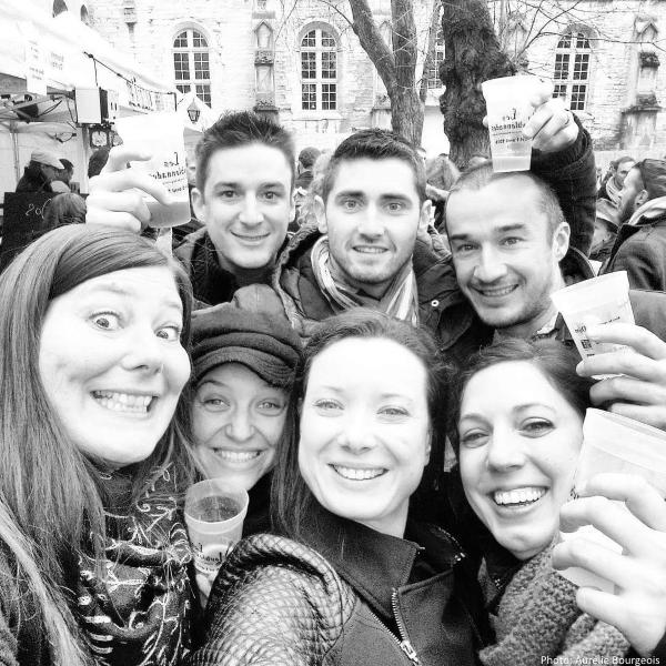 Team Houblonnades, photo Aurélie Bourgeois
