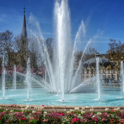 Flâner Place Wilson, Dijon, Bourgogne