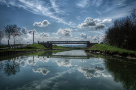 Pont de Bois, Grignon, Auxois, canal de Bourgogne