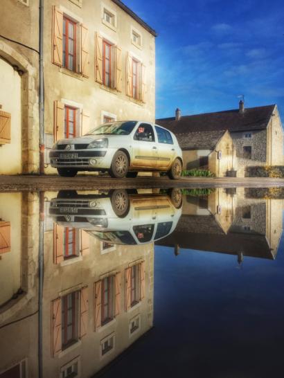 Puddle Clio II Pouillenay