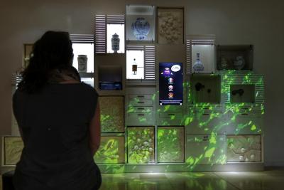 muséographie Cassissium ambiances variées