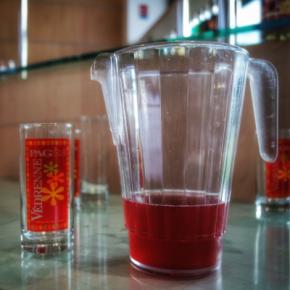 cocktail à déguster Cassissium