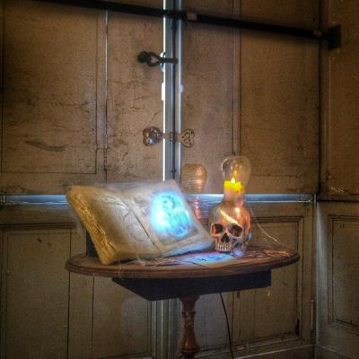 exposition itinérante lanternes magiques et fantasmagories Bourgogne