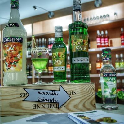 Idée cocktail boutique Cassissium