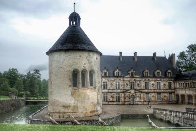 canards coureurs du château de Bussy-Rabutin Bourgogne