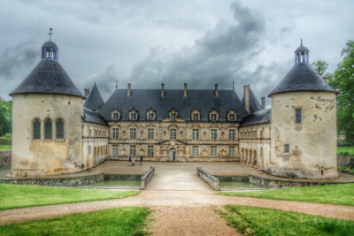 Flânr au Château de Bussy Rabutin Bourgogne