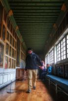 Dans la galerie des rois, château de Bussy-Rabutin Bourgogne