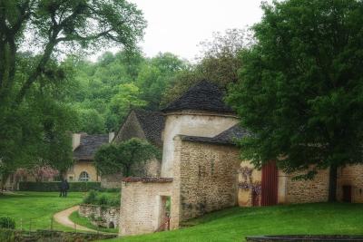 Dans le parc du château de Bussy-Rabutin Bourgogne