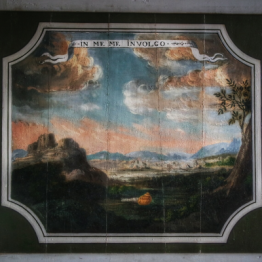 détail salle des devises chateau de Bussy-Rabutin Bourgogne