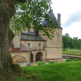 extérieur château de Bussy-Rabutin Bourgogne
