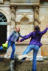 igers en visite au château de Bussy Rabutin Bourgogne