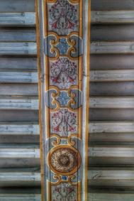 plafond Château Bussy-Rabutin Bourgogne