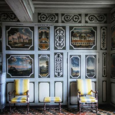 salle des devises château de Bussy-Rabutin Bourgogne
