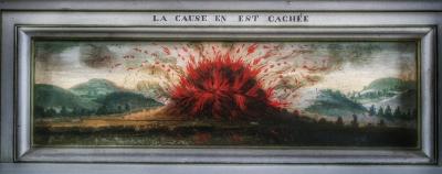salle des devises châateau de Bussy-Rabutin Bourgogne