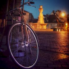 Besançon by night